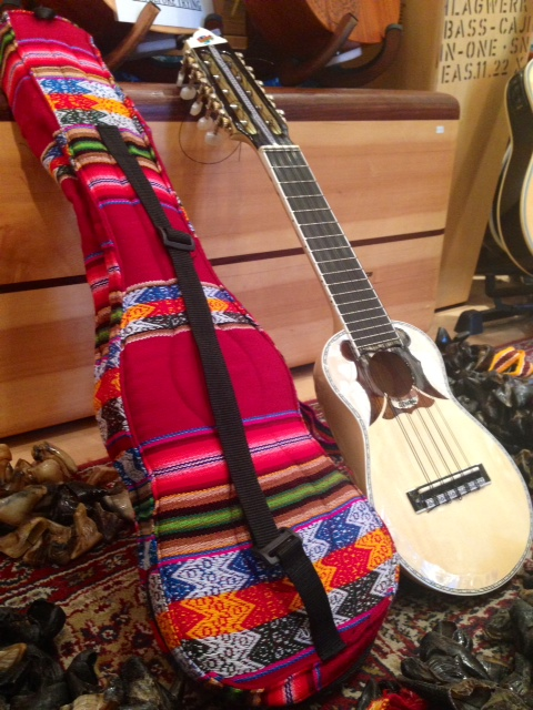 Charango with Goat Hoofs