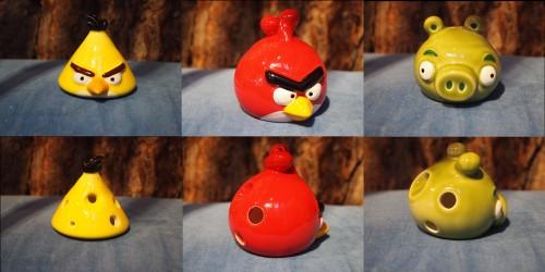 ANGRY BIRDS OCARINAS