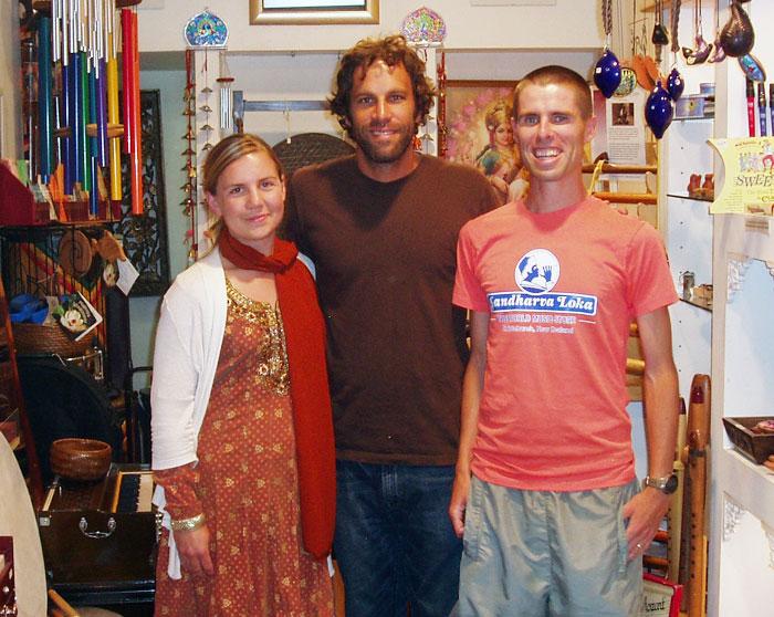 Jack Johnson, Musician and Song Writer visits Gandharva Loka New Zealand